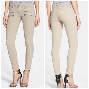 *PAIGE* Desert Khaki Edgemont Ultra Skinny Jeans